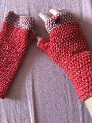 Handmade Mitaine rouge