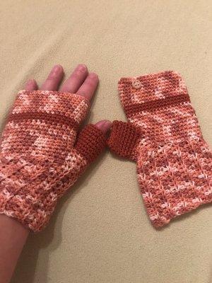Handschuhe Stulpen neu braun