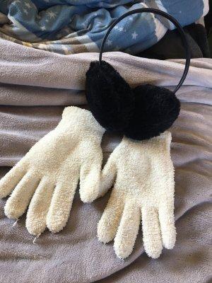 handschuhe und ohrenwärmer