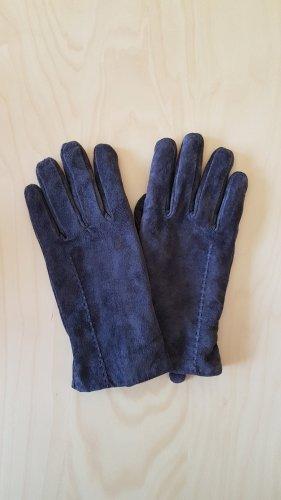 Tchibo / TCM Rękawiczki skórzane brązowy-ciemnobrązowy Skóra