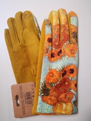 Handschuhe Veloursoptik Touchscreenfunktion