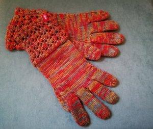 edc by Esprit Gants en tricot multicolore laine