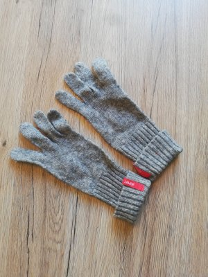 Esprit Knitted Gloves grey