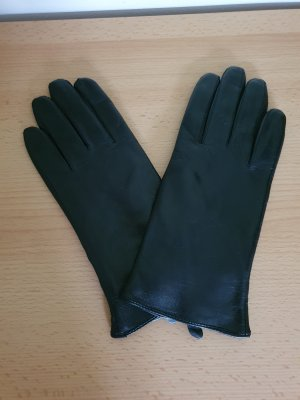 Strauss Leather Gloves black leather