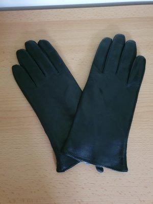 Strauss Leren handschoenen zwart Leer