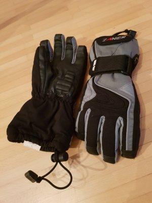 Padded Gloves black-grey