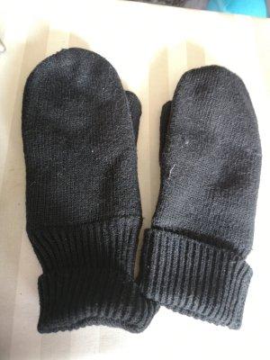 Handschuhe Wolle schwarz