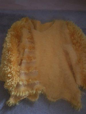 Maglione oversize giallo