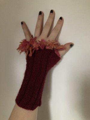 Handschoenen zonder vingers veelkleurig