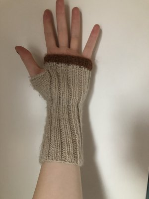 Fingerless Gloves multicolored