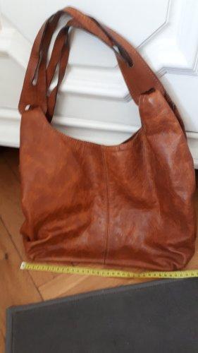 Shoulder Bag brown leather