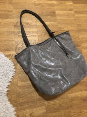 Tom Tailor Shopper silver-colored-grey