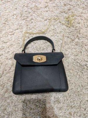 Mini sac noir-doré