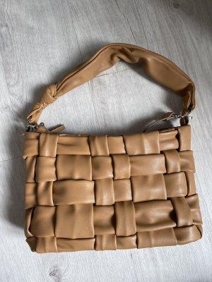 Handtasche, angesagte Stepp-Optik