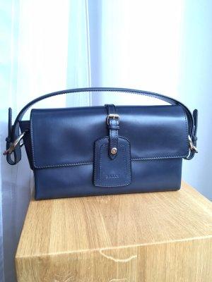 Handtasche aus echtem Leder von BALLY blau