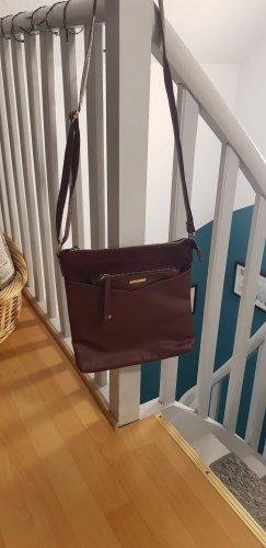 Handtasche aus Imitat aus Leder