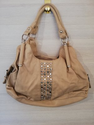 David Jones Handbag silver-colored-beige