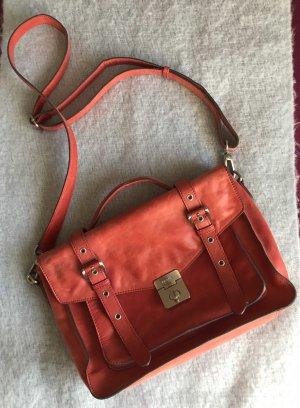 Handtasche aus rotem Leder von Picard