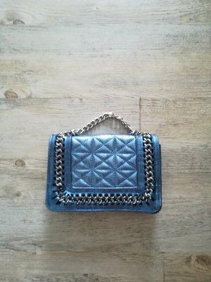 Handtasche aus Veloursleder