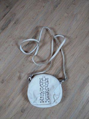 Handtasche beige Nieten Esprit