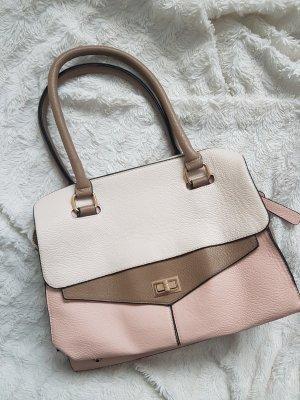 Handtasche Bijou Brigitte rosa creme weiß