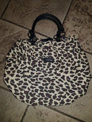 Basket Bag black-gold orange