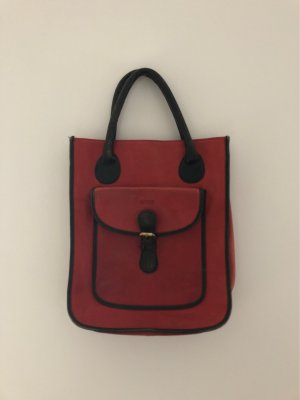 Bree Handbag black-red