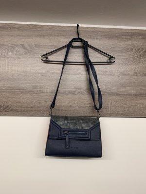 Bulaggi Handbag dark blue-salmon polyester