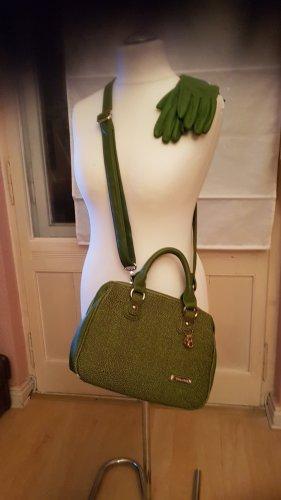 Bulaggi Handbag black brown-grass green imitation leather