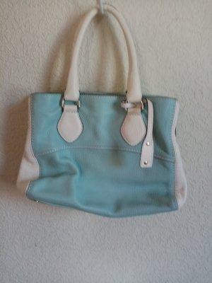 abro Handbag white-turquoise