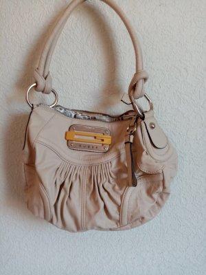Guess Handbag cream leather