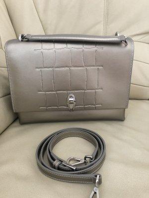Handtasche Cavalli Class aus Leder mit Schulterriemen und Staubbeutel