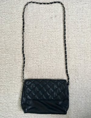 Handtasche Chain Bag Crossbody Bag Schultertasche Schwarz