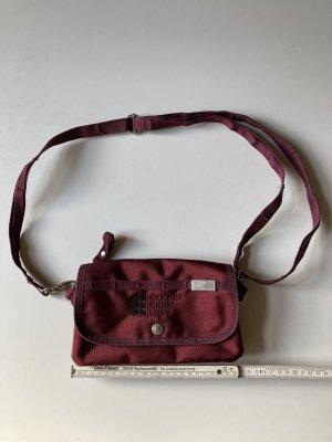 Handtasche, Clutch, George Gina & Lucy, Modell: Club Clutch, Farbe: weinrot