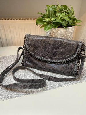 Handtasche/Clutch grau