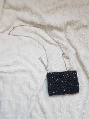 Handtasche Clutch schwarz sehr guter Zustand Bijou Brigitte