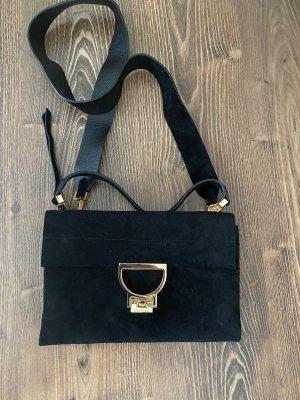 Handtasche Coccinelle Arlettis schwarz