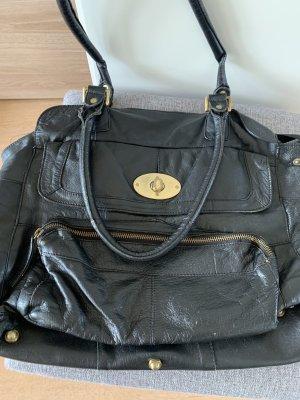 Handtasche Cox - Görtz echt Leder mit vielen Fächern