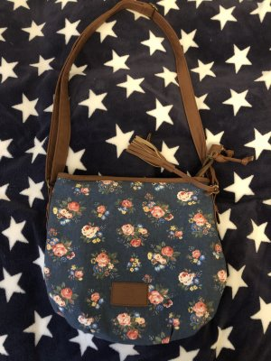100% Fashion Gekruiste tas donkerblauw