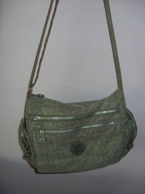 Handtasche, Damentasche, Schultertasche, Shoulder Bag grau HT-12666