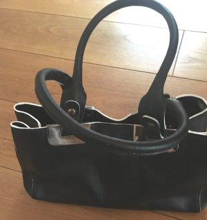 Handtasche dunkelblau/weiß Coccinelle