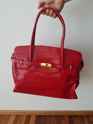 Handtasche  Echtleder Hermesstil