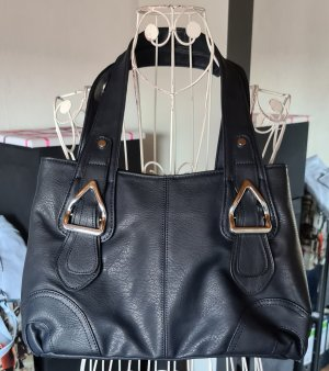 Handtasche * Eleganci * Top erhalten * Schwarz