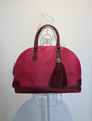 MCM Handbag magenta-pink leather