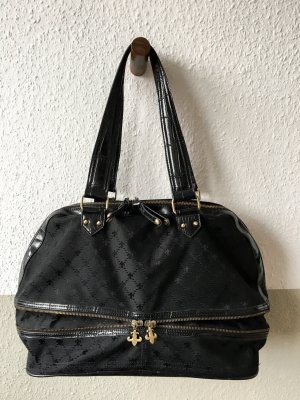 Handtasche Friis & Company schwarz