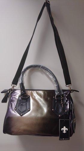 Handtasche Friis & Company Silber /schwarz