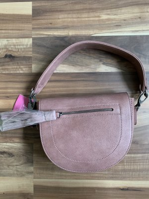 Fritzi aus preußen Handbag rose-gold-coloured mixture fibre