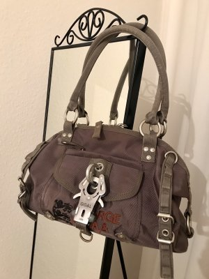 George Gina & Lucy Sac Baril taupe-brun pourpre