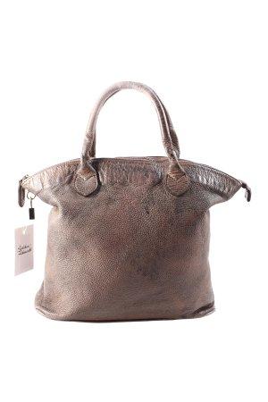 Handtasche graubraun Used-Optik