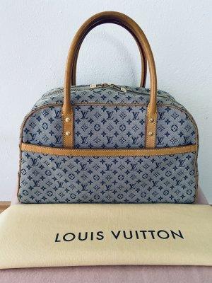 Handtasche|Henkeltasche Monogram Mini lin graublau -Louis Vuitton